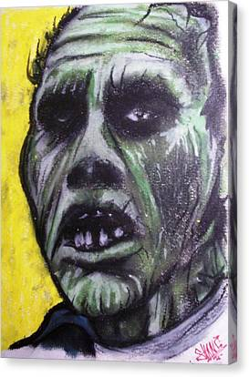 George Romero Canvas Print - Day Of The Dead - Bub by Sam Hane