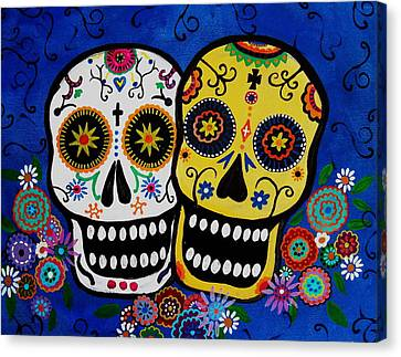 Day Of The Dead Sugar Canvas Print
