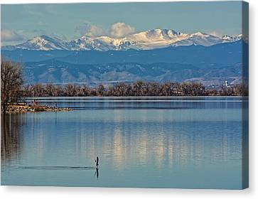 Day On The Lake Canvas Print
