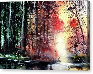Daybreak 2 Canvas Print by Anil Nene
