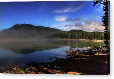 Canvas Print featuring the photograph Daybreak At Sparks Lake by Cat Connor