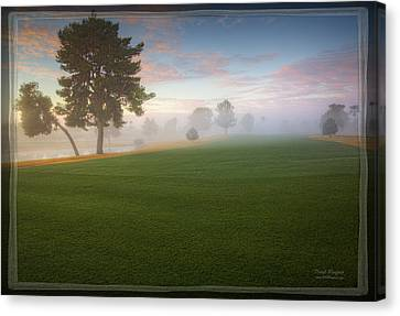 Daybreak At Willowcreek Canvas Print
