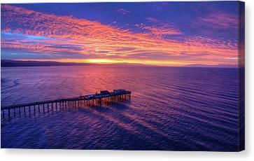 Daybreak Canvas Print by David Levy