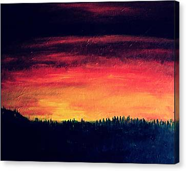 Daybreak Number Four Canvas Print by Scott Haley