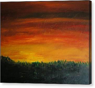 Daybreak Number Three Canvas Print by Scott Haley