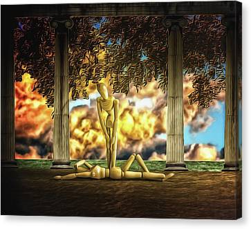 Canvas Print featuring the photograph Daybreak Redux by Mark Fuller