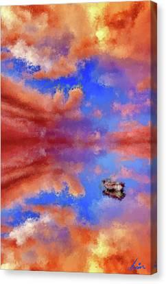 Figment Canvas Print - Daydream Mirage by Armin Sabanovic