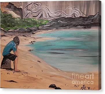 Daydreams Canvas Print by Patti Spires Hamilton