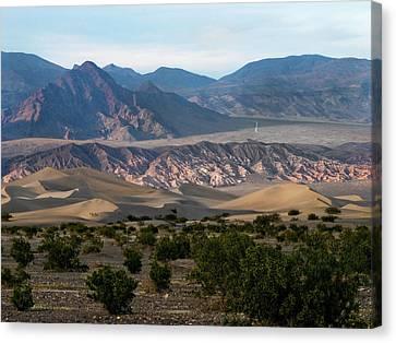 Canvas Print featuring the photograph Daylight Pass by Joe Schofield
