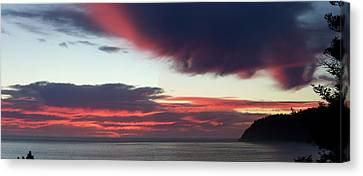 Days End Canvas Print by Angi Parks