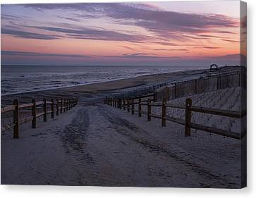 Days End Beach Haven New Jersey  Canvas Print