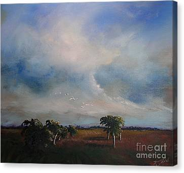 Day's End Canvas Print by Michele Hollister - for Nancy Asbell