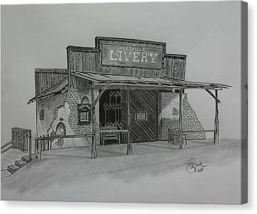 Days Gone  By Canvas Print by Tony Clark