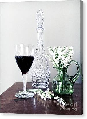 Days Of Wine And Lilies Canvas Print by Luther Fine Art