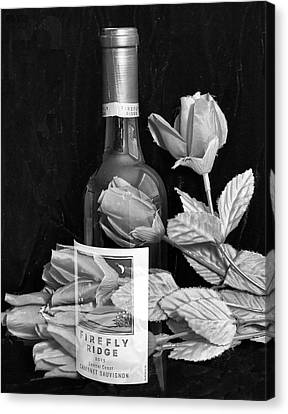 Days Of Wine And Roses Canvas Print by Eileen Brabender
