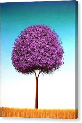 Days To Call On Canvas Print by Rachel Bingaman