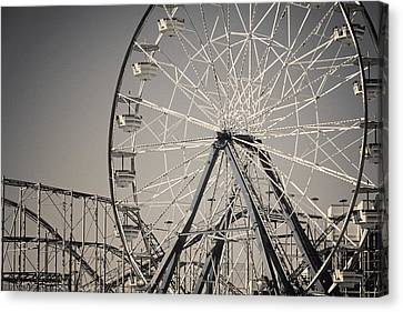Daytona Beach Ferris Wheel Canvas Print