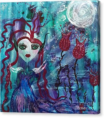 Dazzle Canvas Print by Julie Engelhardt