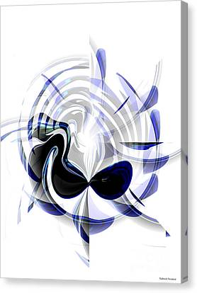 Dazzling Mask Canvas Print by Thibault Toussaint