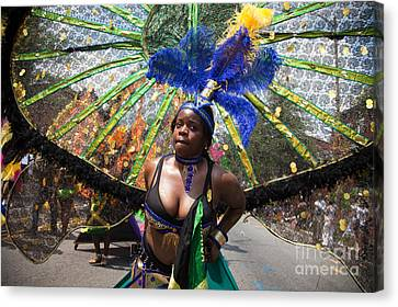 Dc Caribbean Carnival No 12 Canvas Print by Irene Abdou