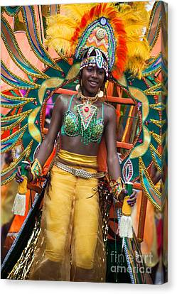 Dc Caribbean Carnival No 16 Canvas Print by Irene Abdou