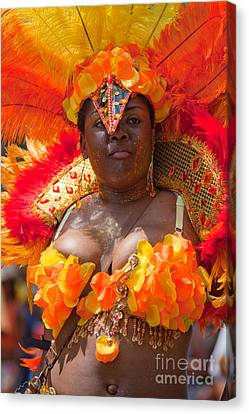 Dc Caribbean Carnival No 23 Canvas Print by Irene Abdou