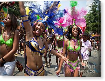 Dc Caribbean Carnival No 8 Canvas Print by Irene Abdou