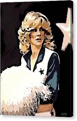 Dcc Legend Dk Canvas Print by Carrie OBrien Sibley