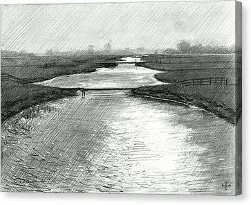 De Horsten - 02-06-15 Canvas Print by Corne Akkers
