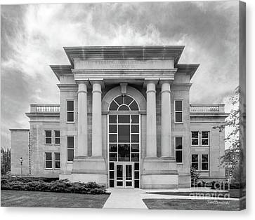 The Tiger Canvas Print - De Pauw University Emison Building by University Icons