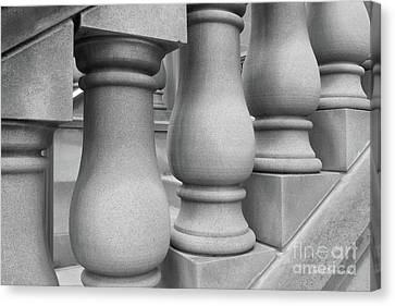 The Tiger Canvas Print - De Pauw University Stone Balustrade by University Icons