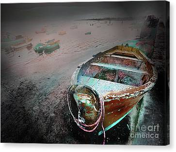 Canvas Print featuring the photograph De Reserva by Alfonso Garcia
