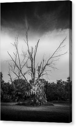 Dead End B/w Canvas Print