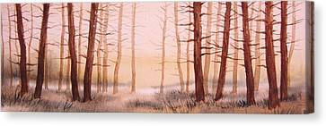 Dead Forest Canvas Print by Kevin Heaney