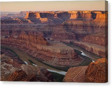 Dead Horse Point Morning Canvas Print by Andrew Soundarajan