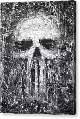 Deadly Demise Canvas Print by Roseanne Jones
