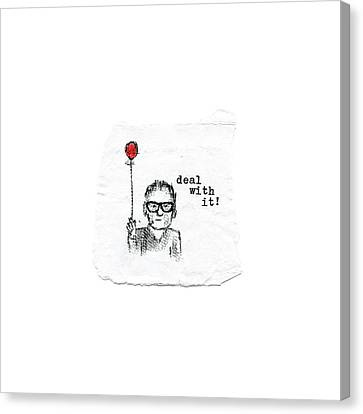 Deal With It Canvas Print by Robert Doerfler