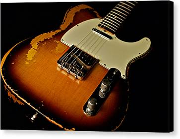Dean Deleo - 1967 Fender Telecaster Canvas Print by Lisa Johnson