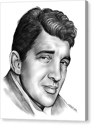 Dean Martin Canvas Print by Greg Joens