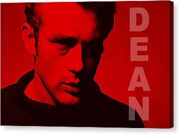 Dean Canvas Print by Martin James