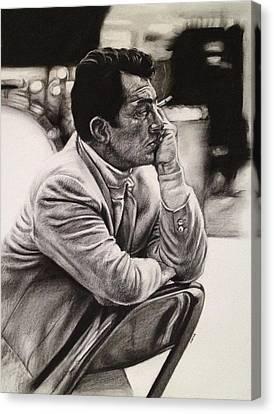 Dean Martin Canvas Print by Steve Hunter