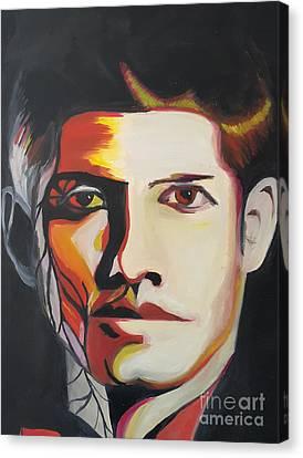 Dean Canvas Print by Veronika Bernhardt