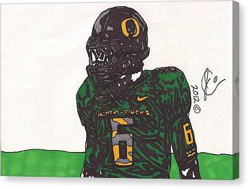 De'anthony Thomas 2 Canvas Print by Jeremiah Colley