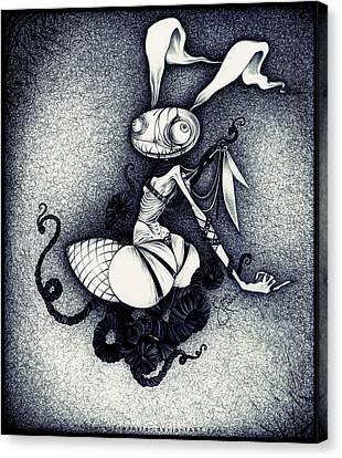 Dear Rabbit Canvas Print