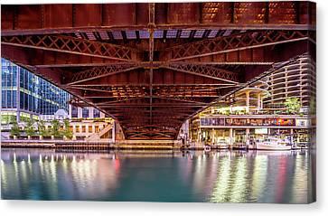 Dearborn St. Bridge, Chicago Canvas Print