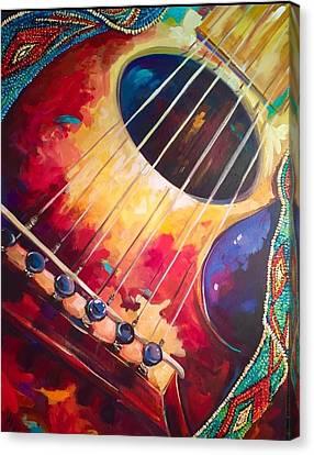 Dearest Freind  Canvas Print by Heather Roddy
