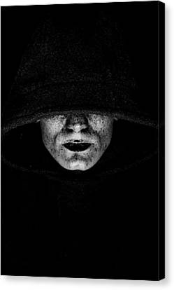 Death Canvas Print by Gabor Pozsgai