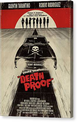 Death Proof Canvas Print - Death Proof by Fine Artist