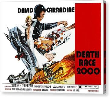 Death Race 2000, From Left Simone Canvas Print by Everett