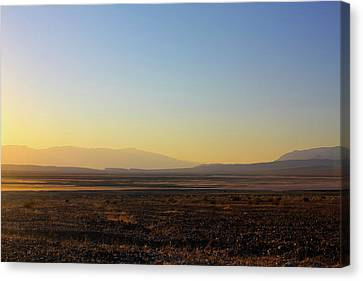 Range Canvas Print - Death Valley -  A Beautiful But Dangerous Place by Christine Till